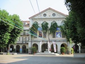 L'edificio delle camerette di don Bosco come appare oggi